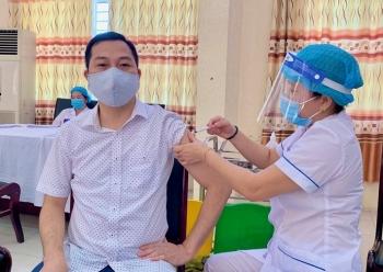 Hà Nội: Huyện Thạch Thất triển khai tiêm phòng vắc xin Covid-19 đợt 5