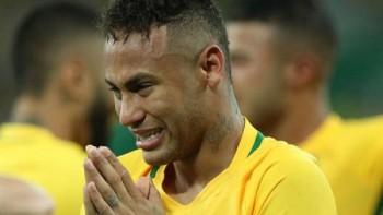 photo neymar khoc tu tu sau khi giup brazil vo dich olympic