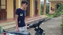 Nghiện ma túy, trộm xe máy của người nhà
