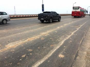 Gần 300 tỷ đồng sửa chữa mặt cầu Thăng Long