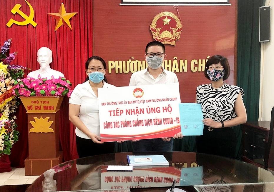 Hà Nội: Một người dân ủng hộ 100 triệu đồng cho Quỹ vắc-xin phòng chống Covid-19