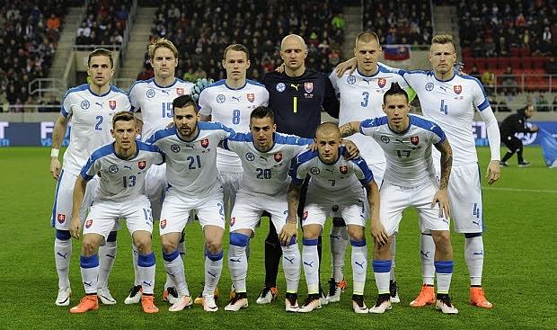 Kết quả hình ảnh cho đội tuyển Slovakia