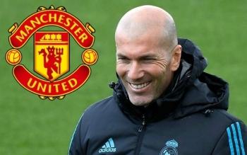 manchester united dat thoa thuan voi zidane