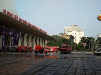 Hà Nội: Cháy hội trường Cung văn hóa hữu nghị Việt - Xô