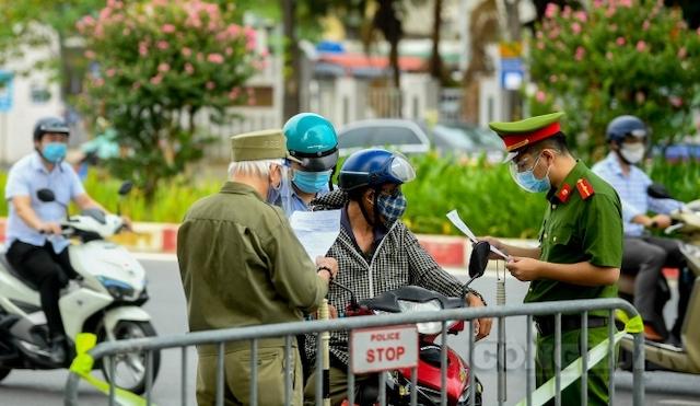 Hà Nội: Quy trình cấp giấy đi đường cho 6 nhóm đối tượng trong đợt giãn cách sau ngày 6/9