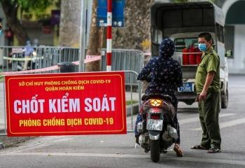 Hà Nội: Hướng dẫn người tham gia giao thông quét mã QR tại chốt kiểm soát dịch