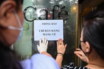 Hà Nội: Cho phép mở lại một số loại hình kinh doanh; dịch vụ ăn uống được bán mang về