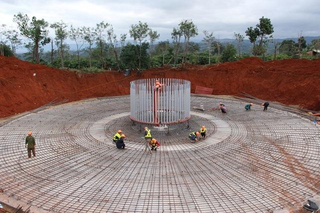 Đắk Lắk: Có dự án điện gió mới đạt khoảng 50% tiến độ