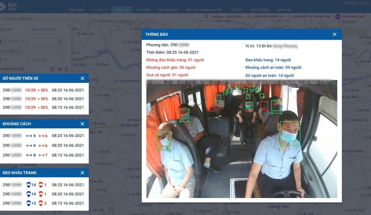 Một công ty cung cấp miễn phí công nghệ AI hỗ trợ phương tiện vận tải phòng dịch Covid-19