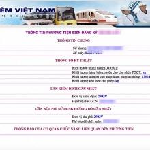 tra cuu tinh trang phuong tien qua website truoc khi di dang kiem