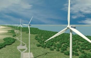 Hà Tĩnh chấp thuận chủ trương đầu tư dự án điện gió 120 MW