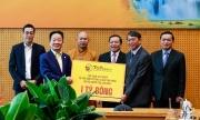Bầu Hiển ủng hộ 5 tỷ đồng xây điểm trường và nhà tình nghĩa cho người nghèo tỉnh Cao Bằng