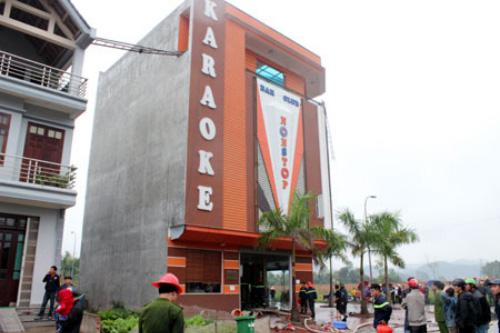 Lạng Sơn: Cháy quán karaoke, 4 người chết