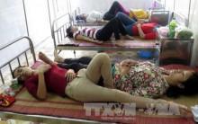 50 công nhân ngộ độc ở Nam Định