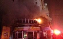 Hỏa hoạn ở chung cư Vimeco, hàng ngàn người tháo chạy