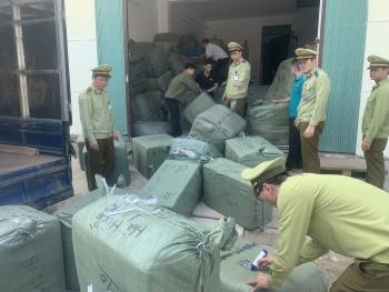 Lạng Sơn: Thu giữ nhiều hàng hóa không có hóa đơn ở một bưu cục Viettel