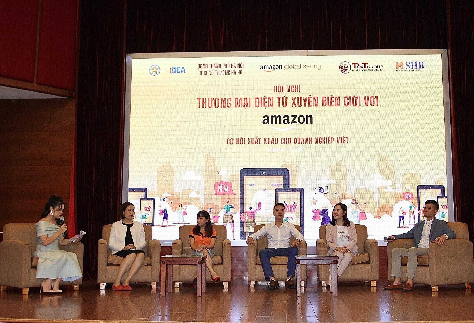 """T&T Group, SHB hợp tác với Amazon: """"Cú hích"""" thúc đẩy thương mại điện tử Việt Nam"""