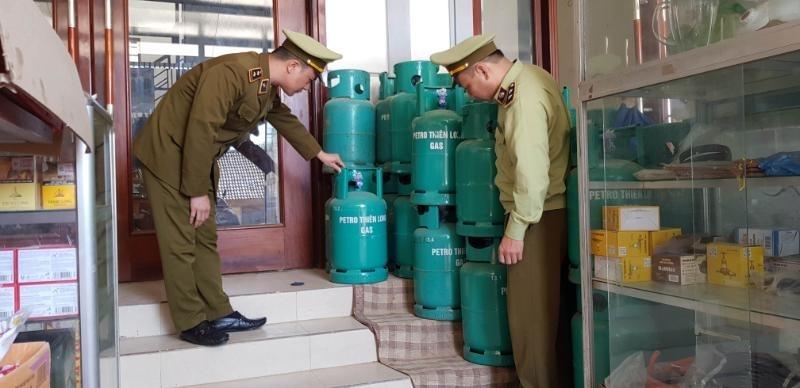 Lạng Sơn: Xử phạt 3 cơ sở kinh doanh gas vi phạm