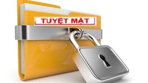 """Kết thúc điều tra vụ án """"Chiếm đoạt tài liệu bí mật nhà nước"""" tại Hà Nội"""