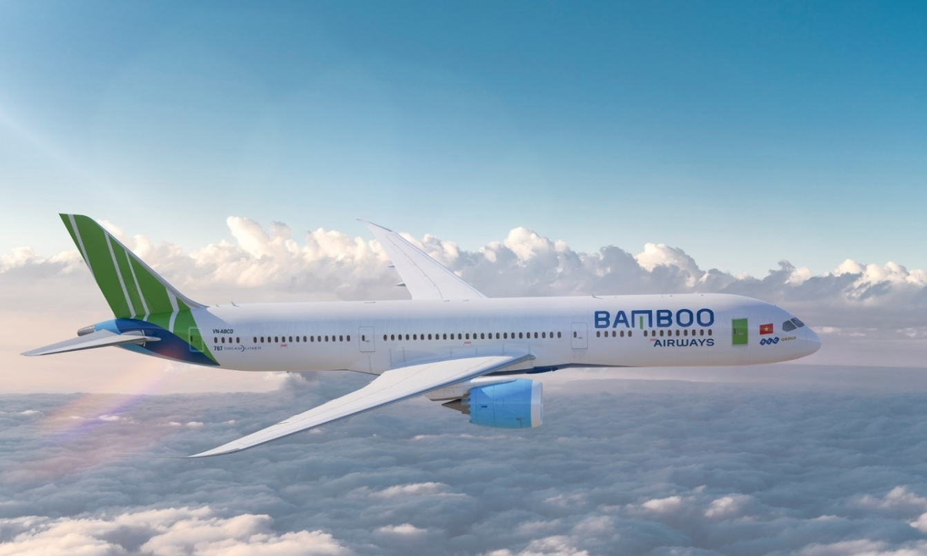 bamboo airways sap don may bay boeing 787 9 dreamliner