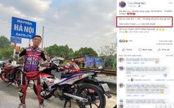 Xác minh, xử lý thanh niên đi từ TP HCM ra Hà Nội mất chưa đến 20 giờ