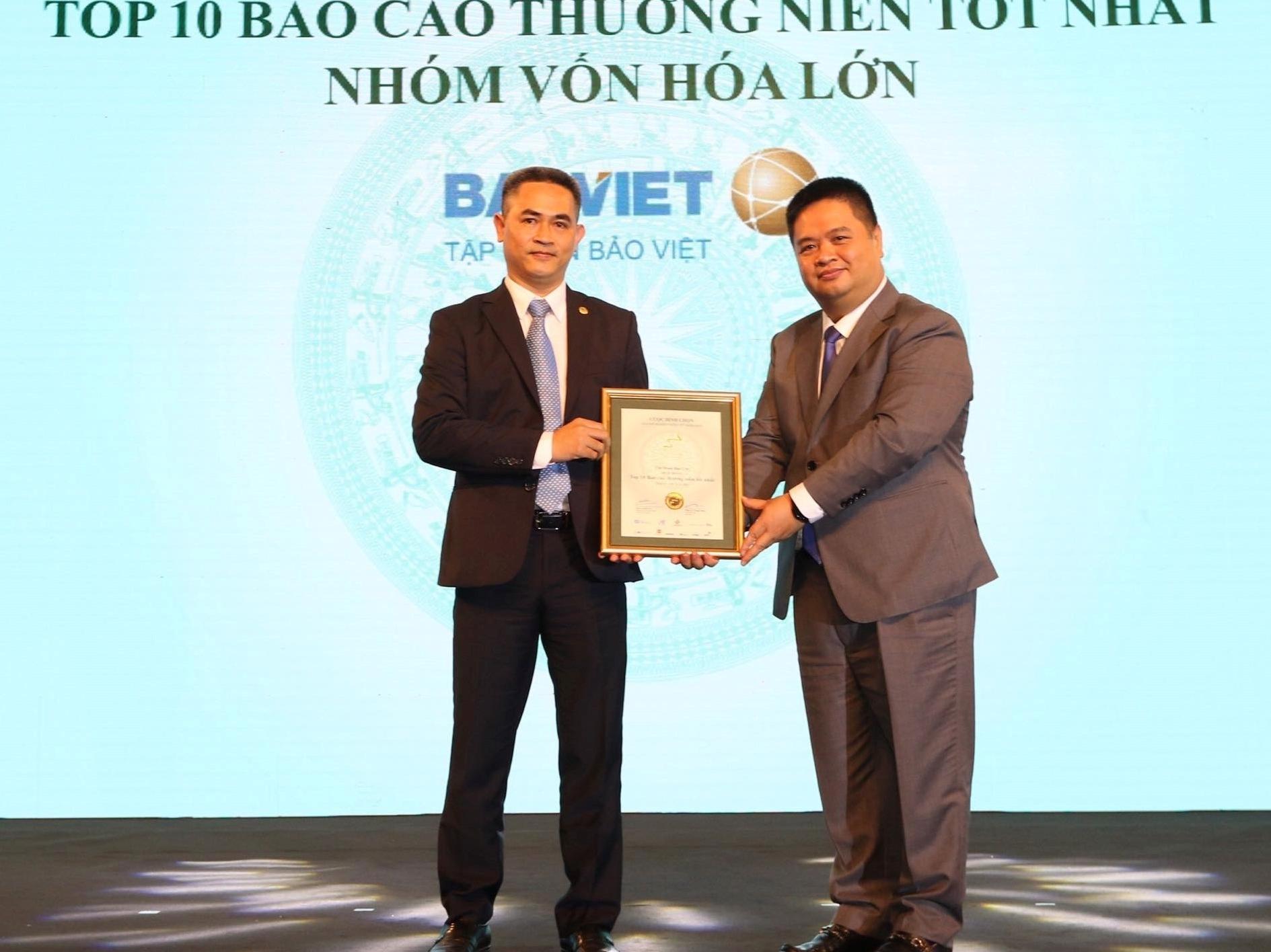 Tập đoàn Bảo Việt 10 năm liên tục dẫn đầu tại Cuộc bình chọn Doanh nghiệp niêm yết