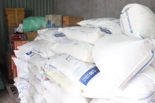 Quảng Trị: Thu giữ 2,4 tấn đường kính nhập lậu