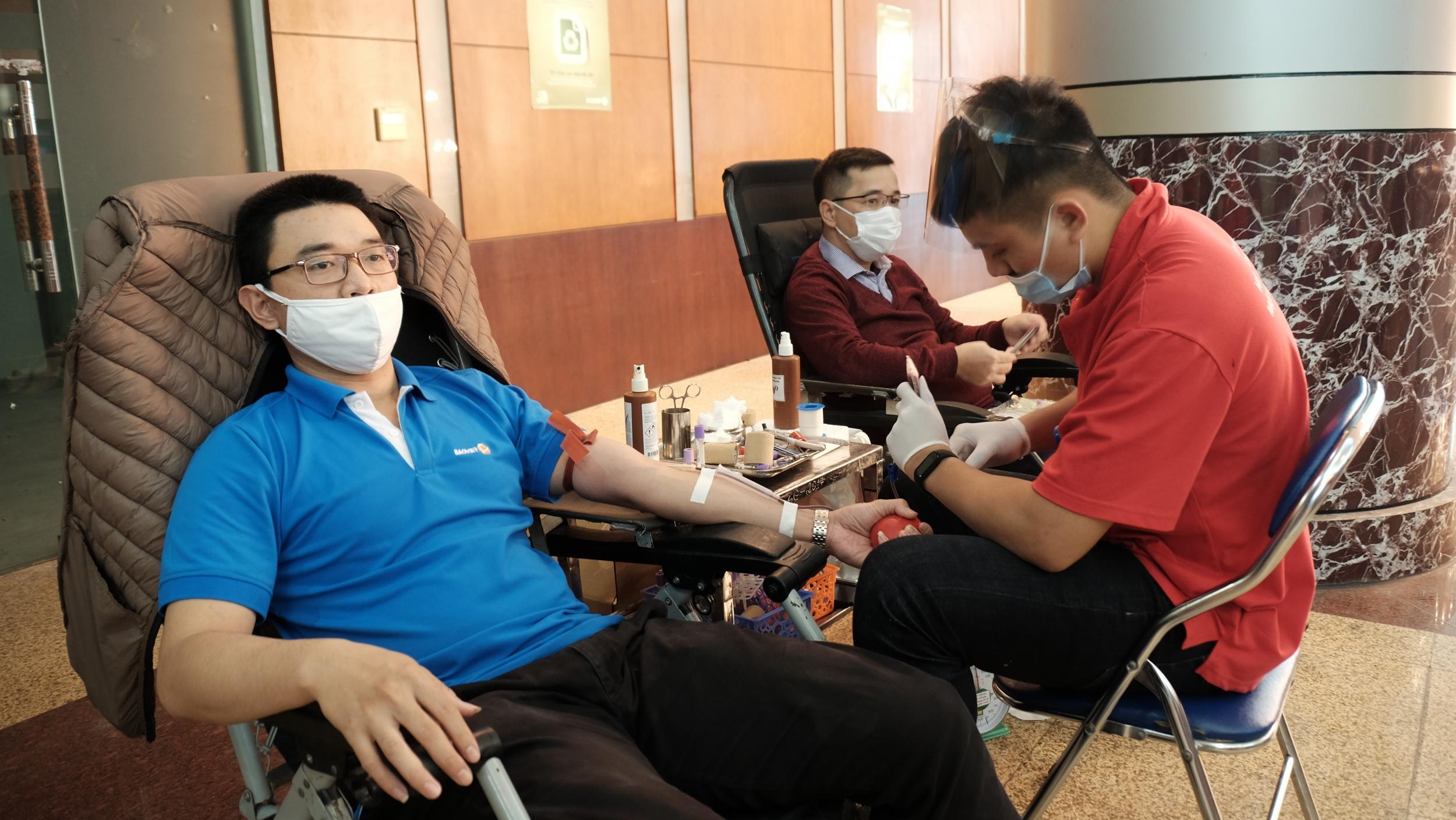 Bảo Việt phát triển bền vững, đồng hành cùng cộng đồng: 2.700 đơn vị máu đã được hiến cho người bệnh