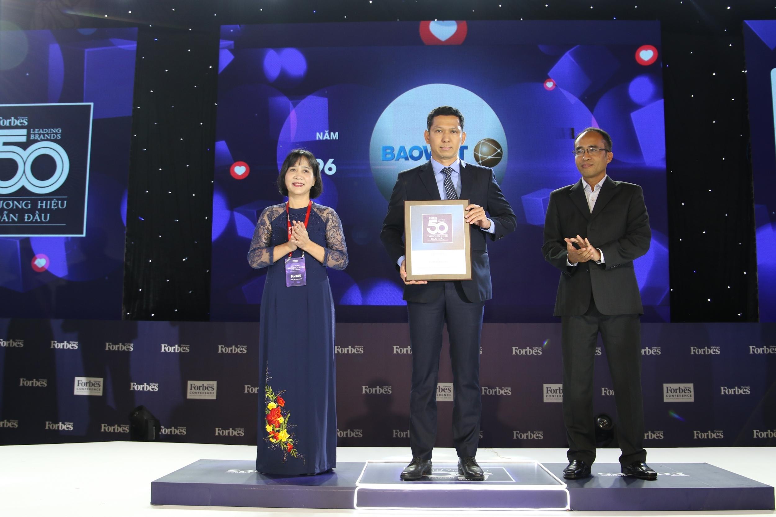 Bảo Việt - thương hiệu bền vững được Forbes bình chọn 5 năm liên tiếp dẫn đầu ngành bảo hiểm