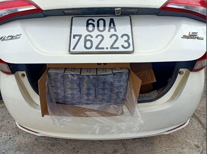 Long An: Truy cứu hình sự vụ vận chuyển 3.000 bao thuốc lá nhập lậu