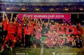 Dấu ấn lịch sử bóng đá Việt Nam 2018 được tái hiện qua ảnh