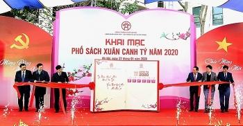 """Hà Nội khai mạc """"Phố sách Xuân Canh Tý 2020"""""""