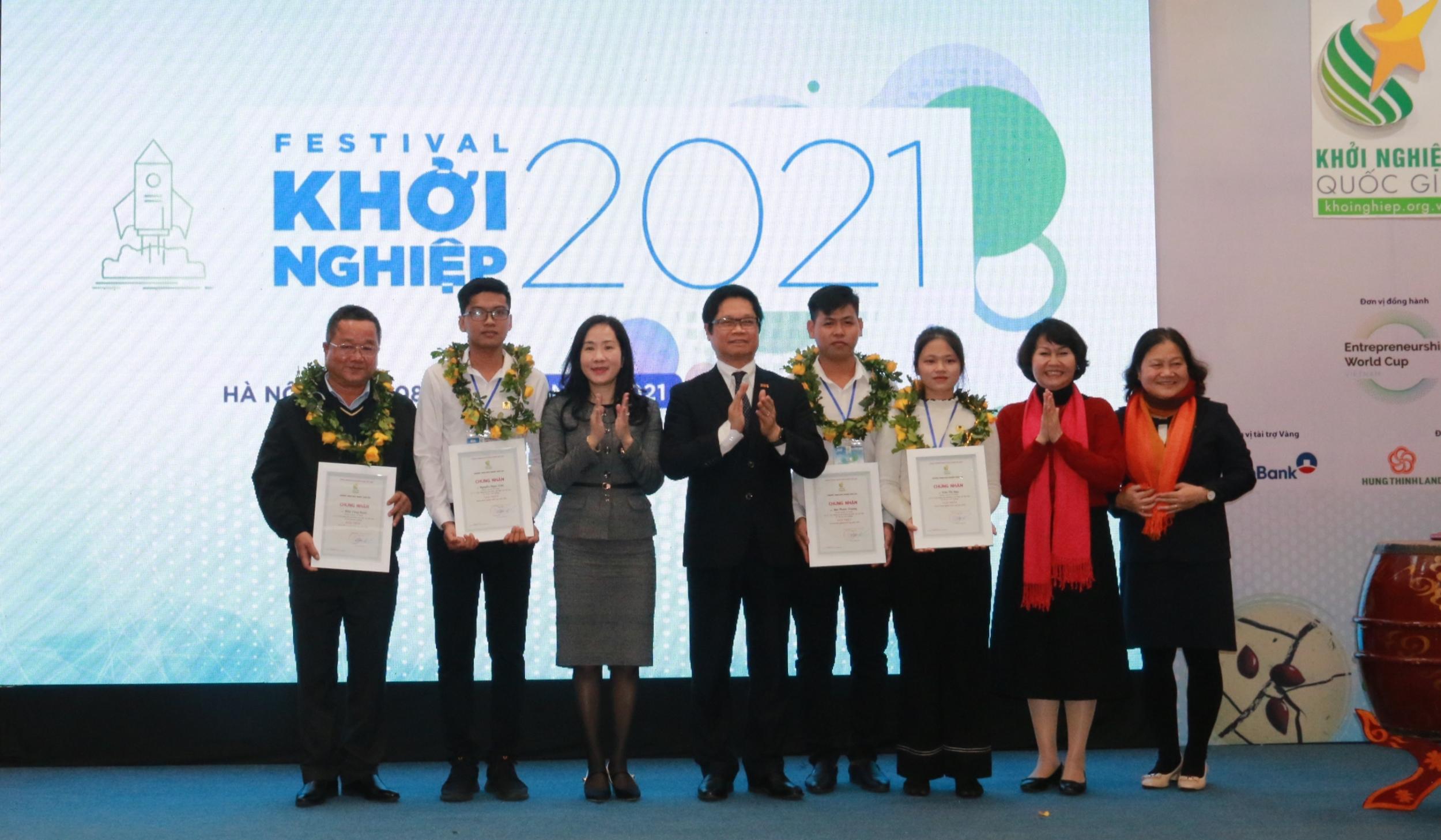 6 dự án xuất sắc đạt giải Cuộc thi Khởi nghiệp Quốc gia 2020