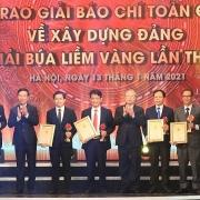 62 tác phẩm xuất sắc được trao Giải Búa liềm vàng lần thứ V - năm 2020