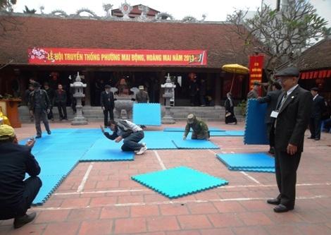 Ấn tượng lễ vật làng Mai Động - Hà Nội