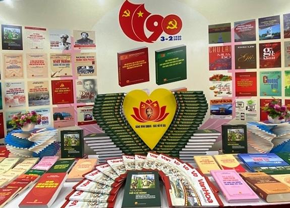 Triển lãm sách kỷ niệm 90 năm ngày thành lập Đảng Cộng sản Việt Nam