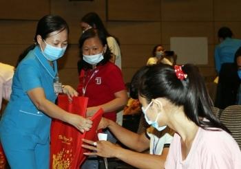 918 công nhân được hỗ trợ kinh phí đi lại về quê đón Tết