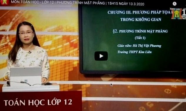 Hà Nội sẵn sàng dạy học online nếu học sinh chưa thể trở lại trường sau Tết