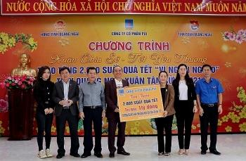 """PVI trao tặng 2.000 suất quà """"Xuân chia sẻ - Tết yêu thương"""" tỉnh Quảng Ngãi"""