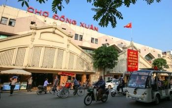 Chợ đầu tiên của Hà Nội lắp điện mặt trời mái nhà