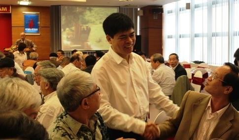Lãnh đạo PVN gặp mặt cán bộ hưu trí Công ty Mẹ Tập đoàn
