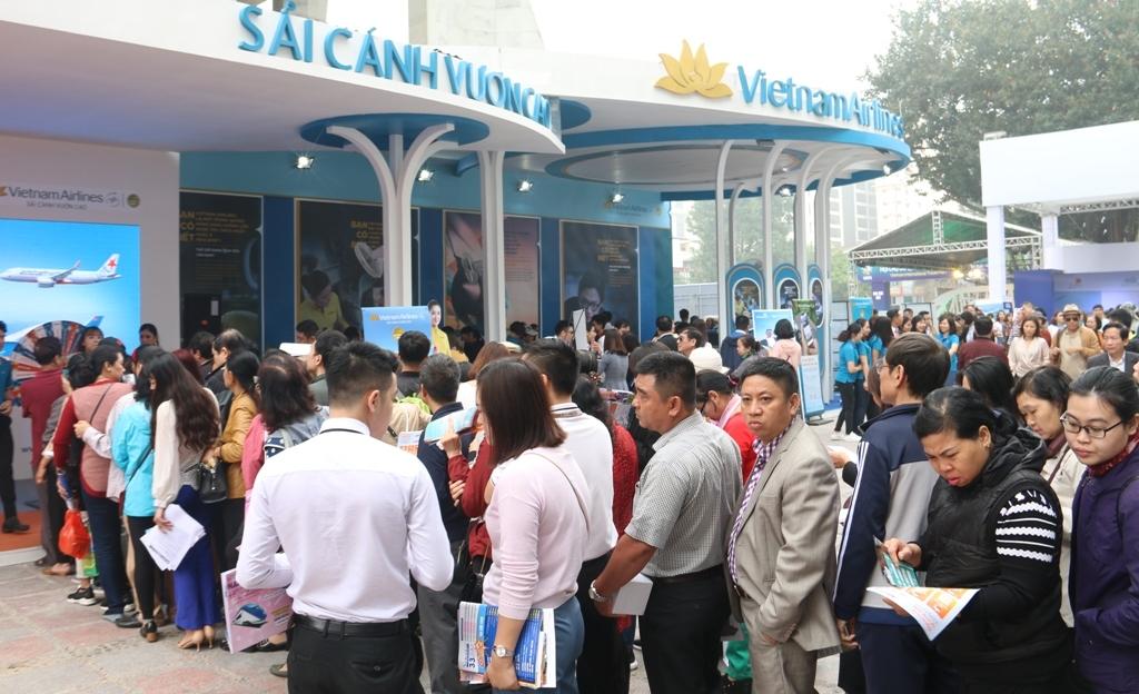 Hơn 40.000 vé máy bay giá rẻ bán tại Hội chợ Du lịch 2019