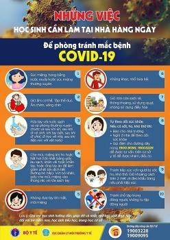 Học sinh cần làm gì để tự bảo vệ trước dịch Covid-19?
