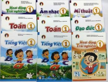 Công bố giá bán sách giáo khoa lớp 1 mới