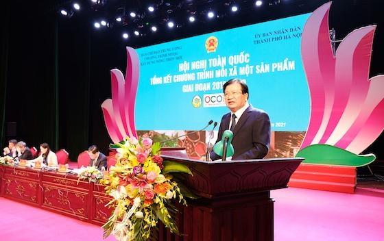"""Phó Thủ tướng Trịnh Đình Dũng: Không làm sản phẩm OCOP theo """"phong trào"""""""