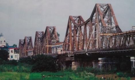Đề xuất xếp cầu Long Biên là di tích lịch sử quốc gia