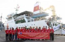 """Những cựu chiến binh """"tìm lửa"""" lên tàu thăm quần đảo Trường Sa"""