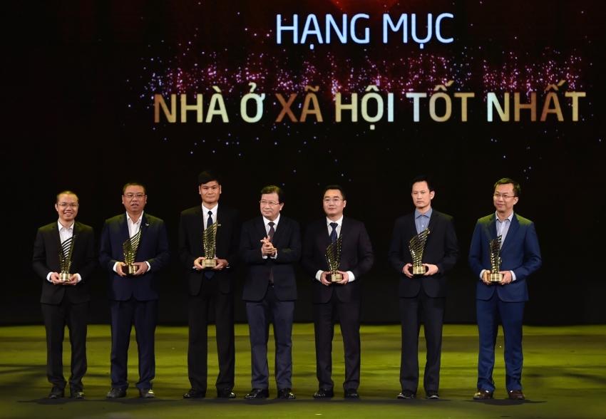 trao giai thuong quoc gia bat dong san viet nam 2018