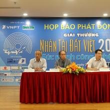 giai thuong nhan tai dat viet 2018 phat trien suc manh cong nghe so