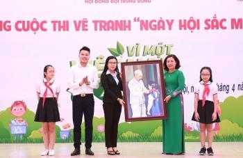 """Phát động cuộc thi vẽ tranh """"Vì một Việt Nam xanh"""""""